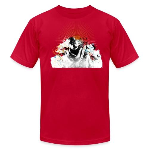 Mens I Believe [Red] - Men's Fine Jersey T-Shirt
