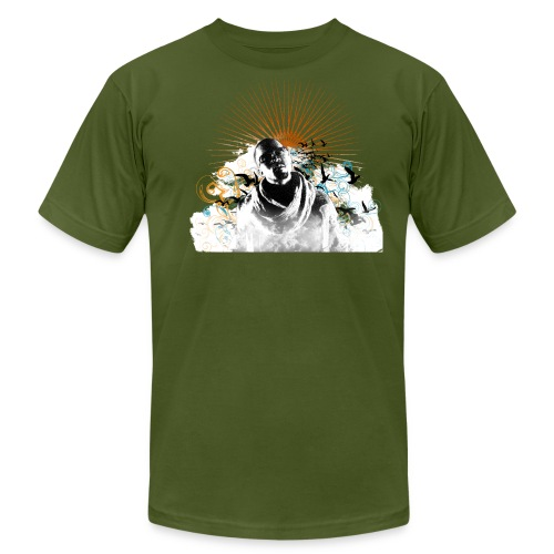 Mens I Believe [Olive] - Men's Fine Jersey T-Shirt