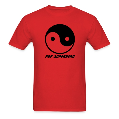 YIN YANG POP SUPERHERO - Men's T-Shirt