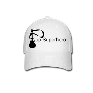 Pop Superhero Guitar Cap from PopSuperhero.com - Baseball Cap