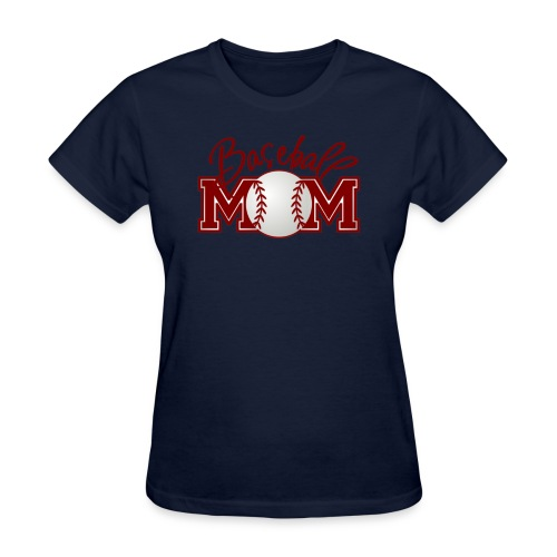 Mom's Baseball Tee - Women's T-Shirt