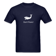 T-Shirts ~ Men's T-Shirt ~ Philosophical Whale T-Shirt