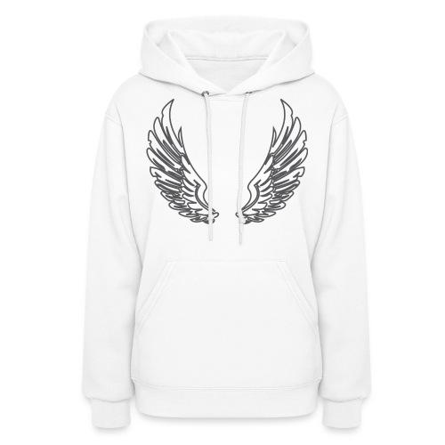 Angel Wing Hoodie - Women's Hoodie