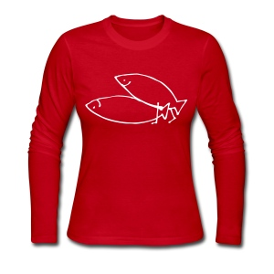 fishionary position - Women's Long Sleeve Jersey T-Shirt