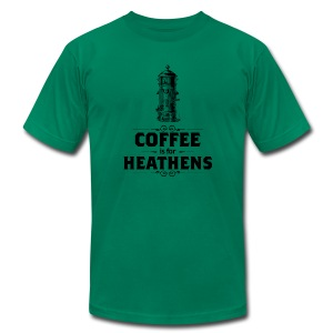 Coffee Mens - Men's T-Shirt by American Apparel