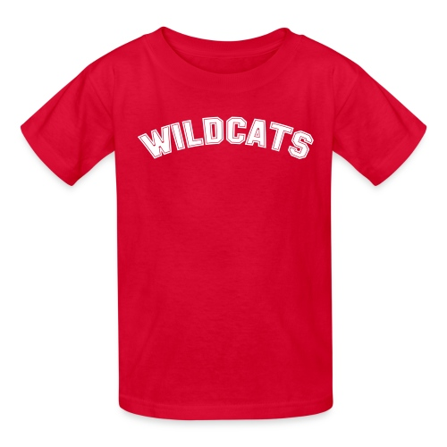 WILDCATS HIGH SCHOOL COSTUME Kids Tee - Kids' T-Shirt