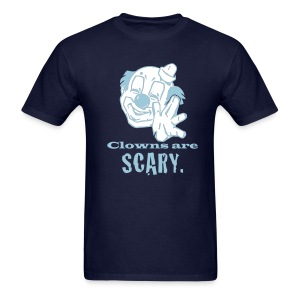 Clowns Are Scary - MLW - Men's T-Shirt