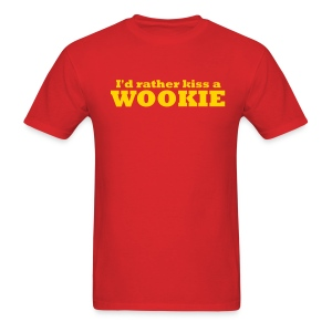Kiss a Wookie - MLW - Men's T-Shirt