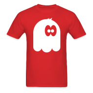 T-Shirts ~ Men's T-Shirt ~ Wooo a monster in red