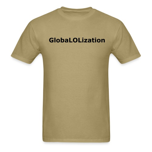 GlobalShirt Front&Back - Men's T-Shirt