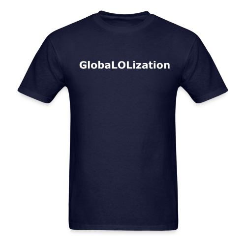 GlobalShirt Front&Back (Inverted) - Men's T-Shirt