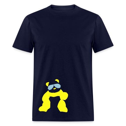 manicpanic panda shades mens  - Men's T-Shirt
