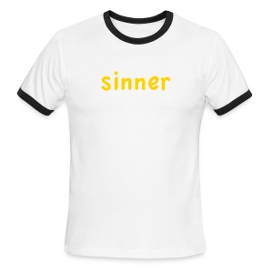 sinner - Men's Ringer T-Shirt