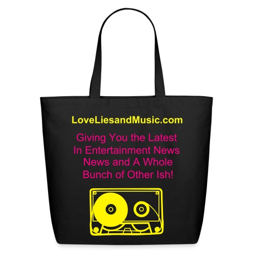 Love Lies and Music - Eco-Friendly Cotton Tote