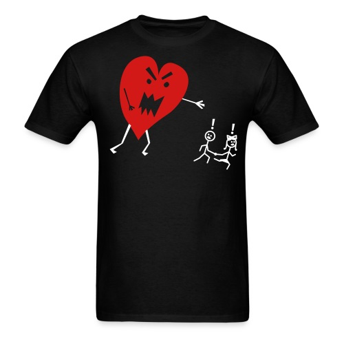 Adult Run Love - Men's T-Shirt