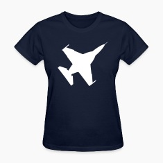 Navy Fighter Jet Women's Tees (Short sleeve)