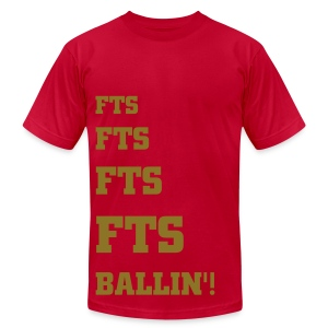 FTS ballin tee - Men's T-Shirt by American Apparel