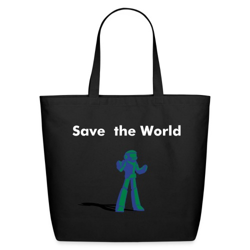 Save the World Tote - Eco-Friendly Cotton Tote