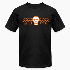 Halloween Row of Skulls