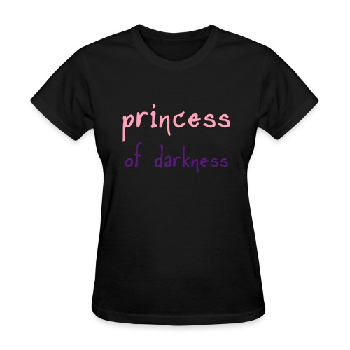 Princess Of Darkness Tee - Women's T-Shirt