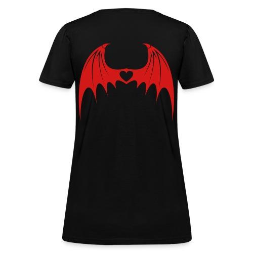 Demon Wings Tee - Women's T-Shirt