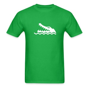Croc Warning - MLW - Men's T-Shirt