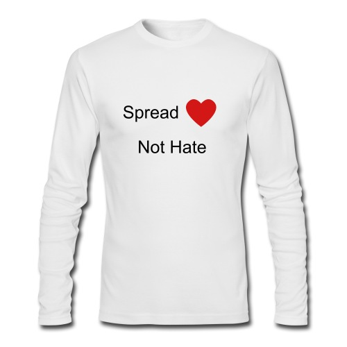 Spread Love - Men's Long Sleeve T-Shirt by Next Level