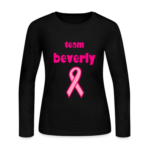 TEAM BEVERLY - Women's Long Sleeve Jersey T-Shirt