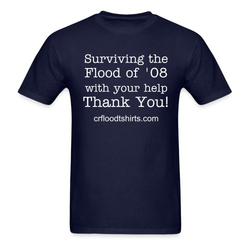 Surviving...with your help - Men's T-Shirt