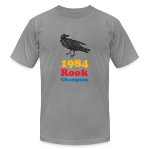 Rook Champ Bird Mens - Men's T-Shirt by American Apparel