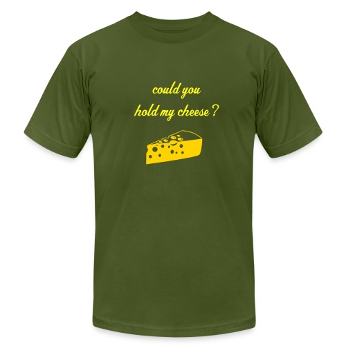could you hold my cheese? - Men's Fine Jersey T-Shirt