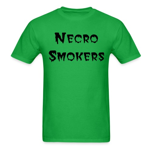 Green T Black Logo - Men's T-Shirt
