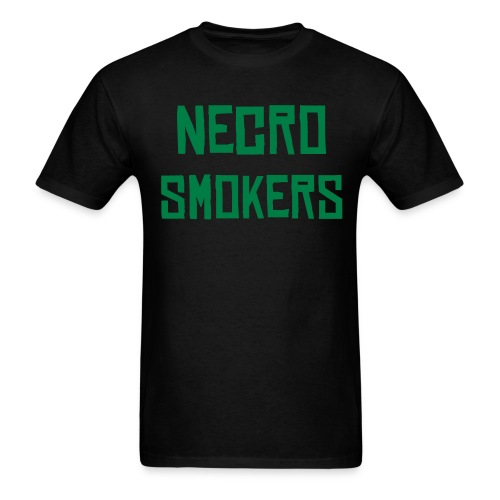 Dark Green Logo Front - Men's T-Shirt