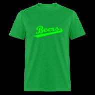 T-Shirts ~ Men's T-Shirt ~ IRISH BEERS Team T-Shirt - St Patrick's Day - BASEketball Movie T-Shirt