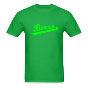 IRISH BEERS Team T-Shirt - St Patrick's Day - BASEketball Movie T-Shirt - Men's T-Shirt