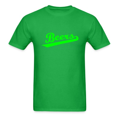 IRISH BEERS Team T-Shirt - St Patrick's Day - BASEketball Movie T-Shirt - Men's T-Shirt