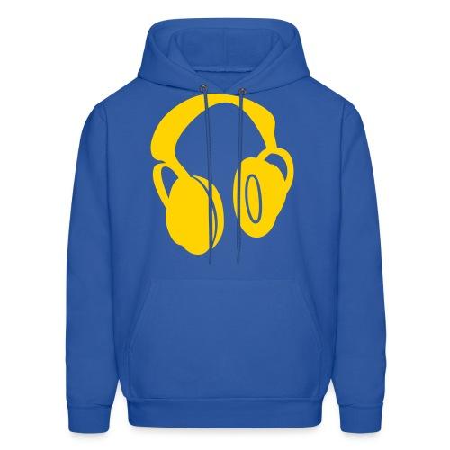 headphones men hoodie - Men's Hoodie