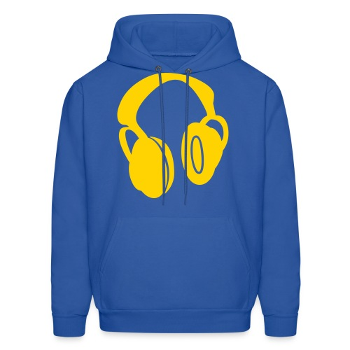 headphones men hoodie - Men's Hoodie