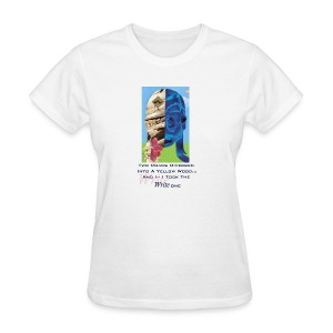 Duality Collage With Quote Tee - Women's T-Shirt