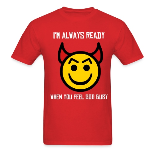 Always ready - Men's T-Shirt