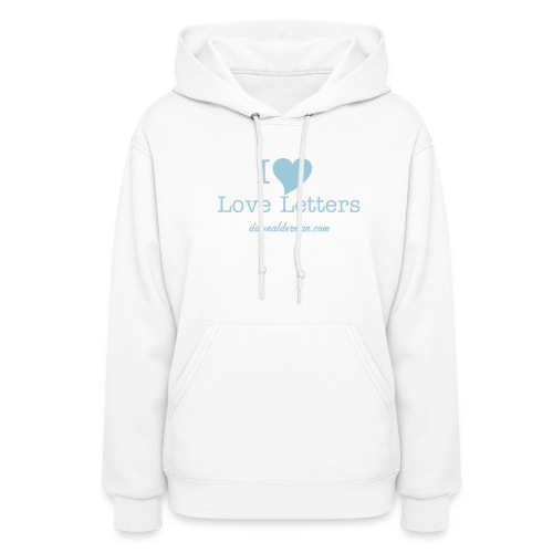 I Luv Love Letters - Women's Hoodie