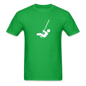 Swing Symbol - MLW - Men's T-Shirt