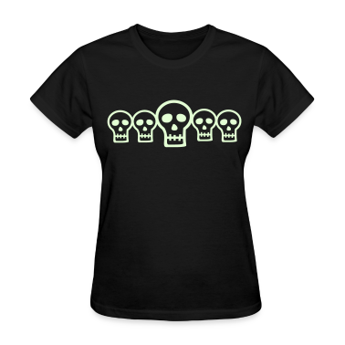 Glow in the Dark Skulls