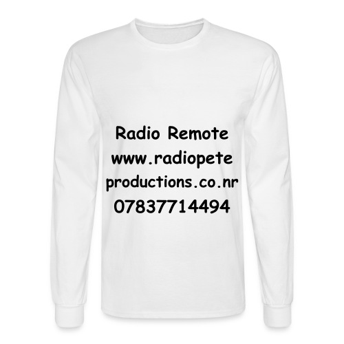 Radio Remote long sleeve - Men's Long Sleeve T-Shirt