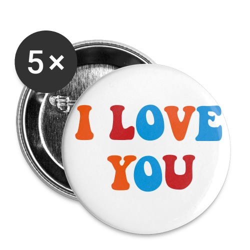 I Love you Button - Large Buttons
