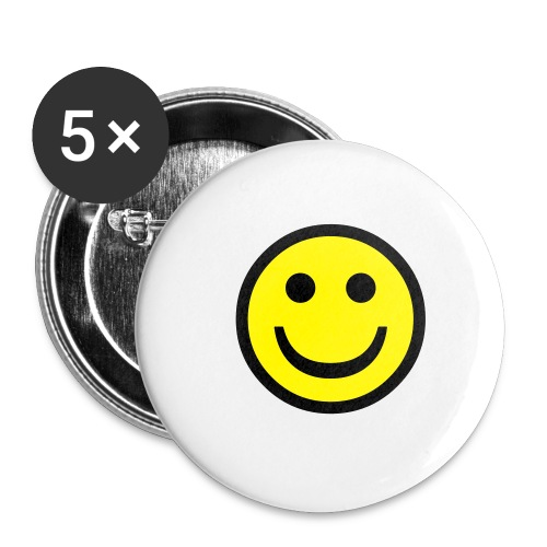 smile - Buttons small 1'' (5-pack)