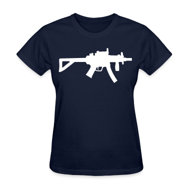 Navy MP5 Women's Tees (Short sleeve)