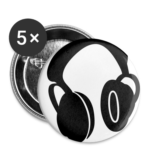 Dj Headphone Button Support Your Local Dj - Small Buttons