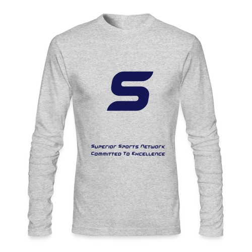 SSN - Commited To Excellence - Men's Long Sleeve T-Shirt by Next Level