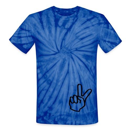 Jackie Chan Peace shirt - Unisex Tie Dye T-Shirt
